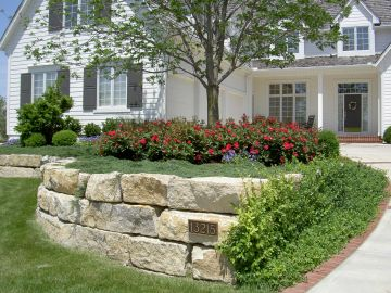 Add Character to Your Landscaping with a Retaining Wall